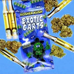 kosher kush exotic carts